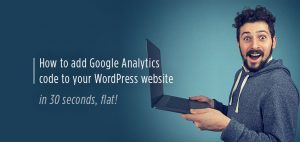 How to add Google Analytics code to your Brisbane WordPress website