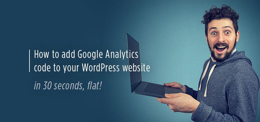 How to add Google Analytics code to your Brisbane WordPress website