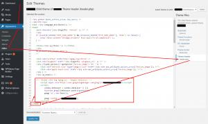 Adding Google Analytics tracking code to your WordPress website manually